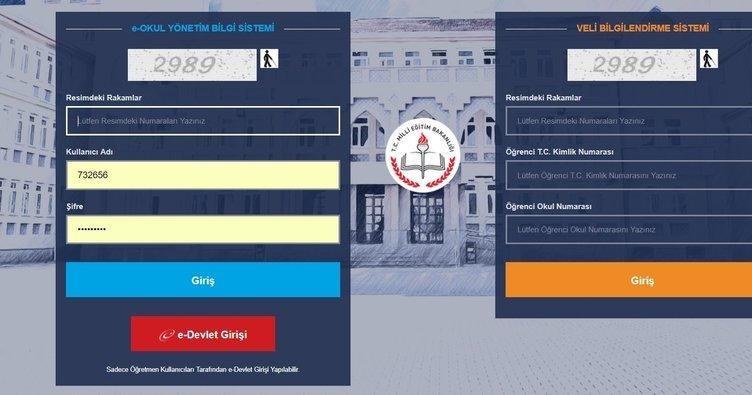 E Okul Veli Bilgilendirme Sistemi'ne giriş nasıl yapılır? MEB ile e-Okul VBS öğrenci giriş ekranı bu sayfada