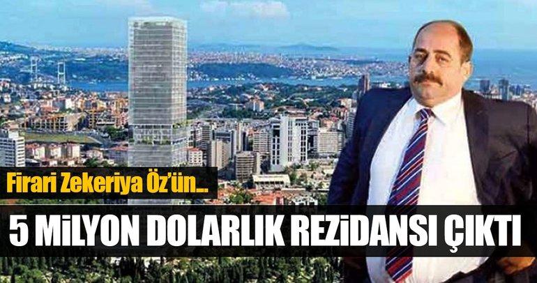 Zekeriya Öz'ün 5 milyon dolarlık rezidansı!