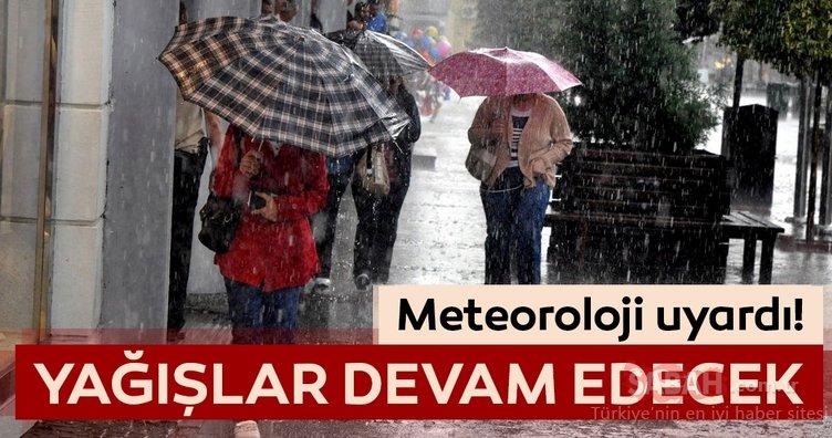 Meteoroloji'den İstanbul için son dakika hava durumu ve yağış uyarısı! İstanbul'da yağışlar devam edecek!