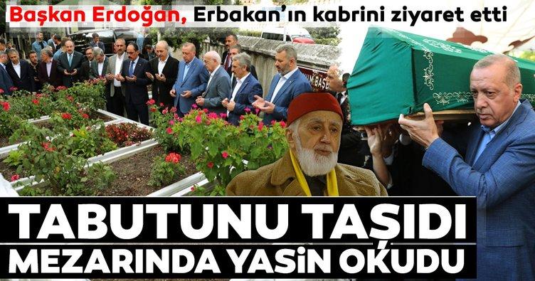 Mehmed Şevket Eygi'nin cenazesi Başkan Erdoğan'ın da katıldığı törenle toprağa verildi
