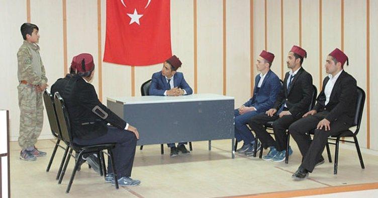 Adıyaman Samsat'ta Mehmet Akif coşku ile anıldı