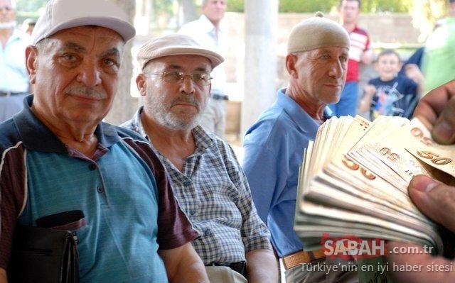 Emekli için kazanç masası! Emekliler için 5'i 1 yerde destek