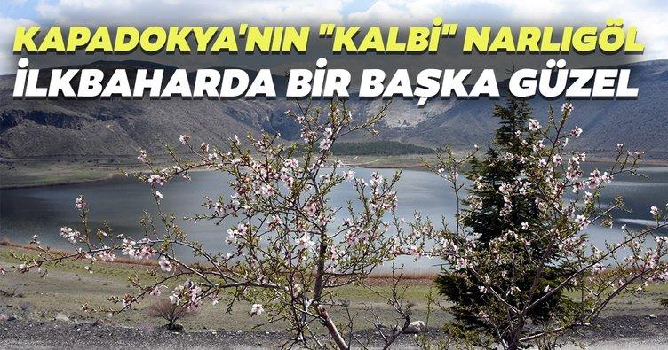 Kapadokya'nın kalbi Narlıgöl ilkbaharda bir başka güzel