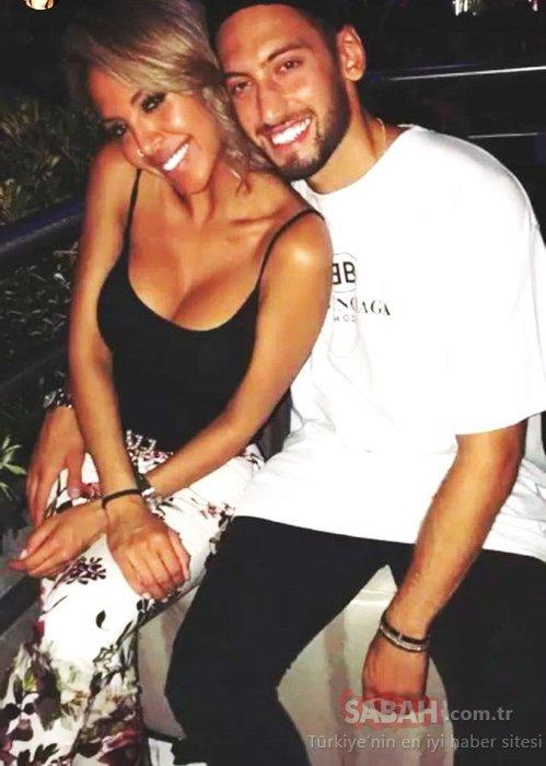 Hakan Çalhanoğlu ve Sinem Gündoğdu boşanıyor! Ünlü futbolcu yabancı bir güzelle yakalandı!