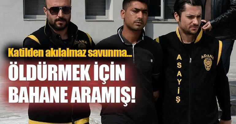Adana'da akılalmaz cinayet!