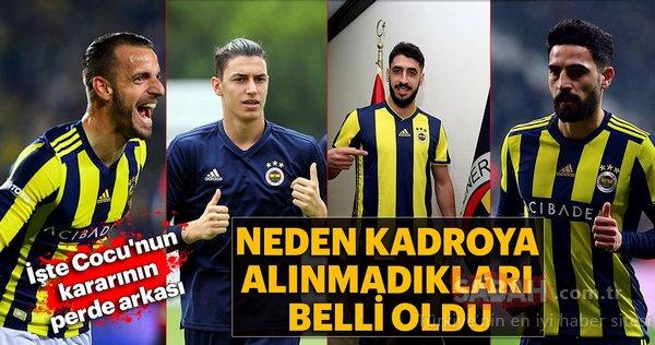 İşte Fenerbahçe'nin UEFA kadrosunun perde arkası
