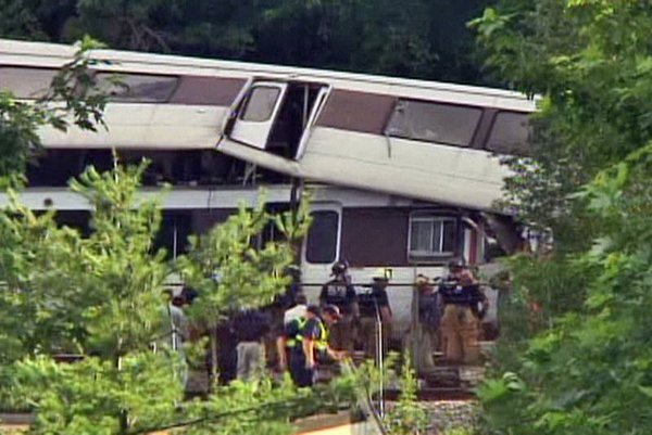 Washington'da metro kazası