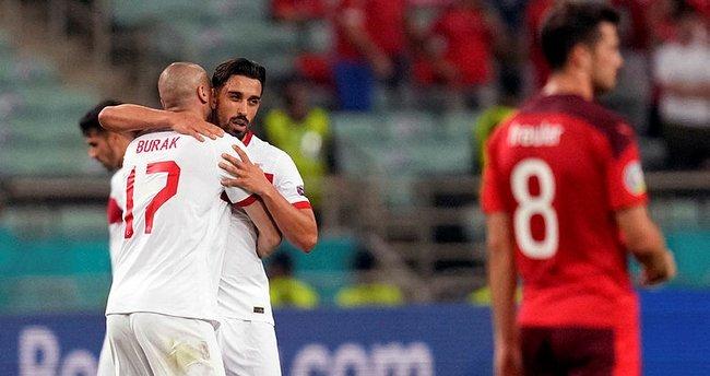 A Milli Takım'ın EURO 2020'deki tek golü İrfan Can Kahveci'den