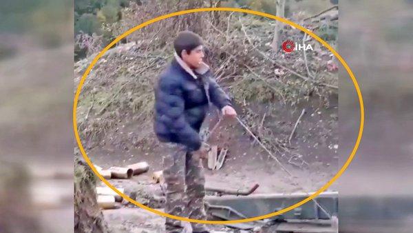 Ermenistan'dan skandal savaş suçu! Cepheden kaçanların yerine çocuk askerleri sürüyor | Video