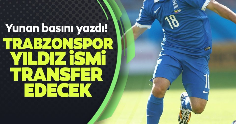 Trabzonspor'un gündeminde Giannis Fetfatzidis var! Sezon sonu...