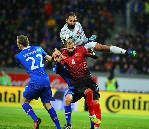 Türkiye-İzlanda muhtemel 11'leri