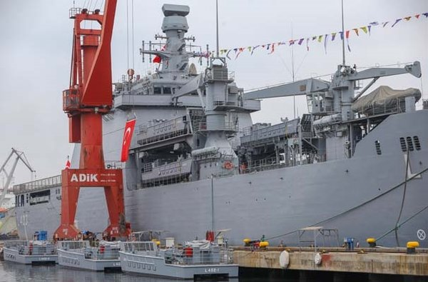 TCG Sancaktar harp gemisi Deniz Kuvvetlerine teslim edildi!