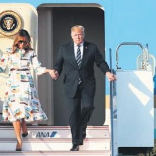 Trump inerken Japonya sallandı