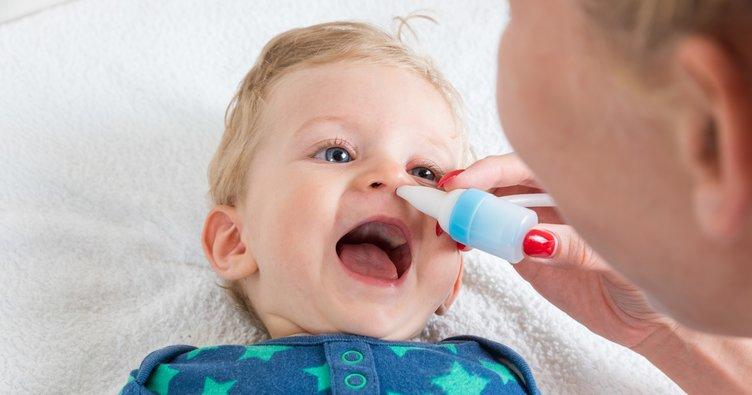 Bebeğinizin burnu tıkanıyorsa...