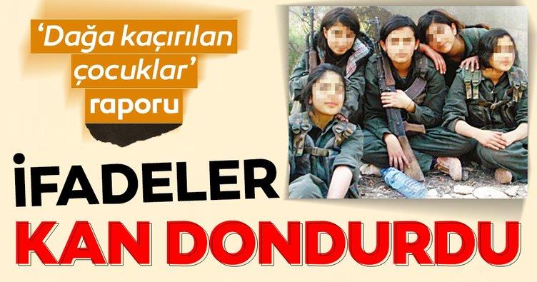 İçişleri'nden rapor: PKK, çocukları sözde PYD yasasıyla Suriye'ye kaçırıyor