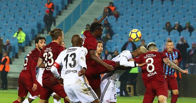 Beşiktaş, Trabzonspor deplasmanında galip!