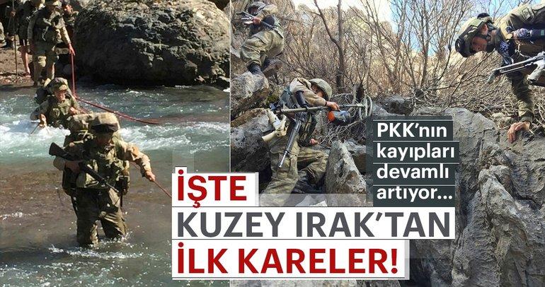 Son Dakika: Kuzey Irak'taki operasyondan çok çarpıcı kareler!