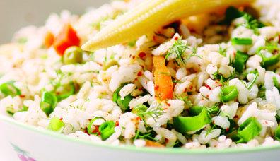 Dereotlu Pirinç Salatası