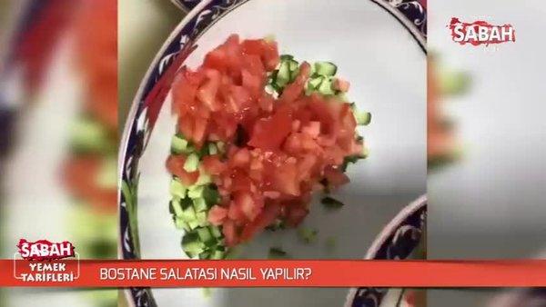 Bostane salatası nasıl yapılır?