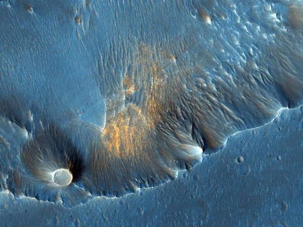 Mars'ı daha önce hiç böyle görmediniz!