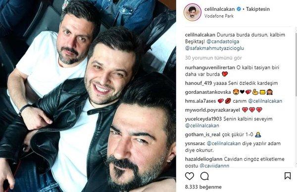 Ünlü isimlerin Instagram paylaşımları (01.04.2018)  (Caner Erkin)