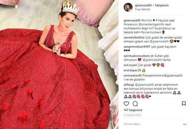 Ünlülerin Instagram paylaşımları (13.02.2018)