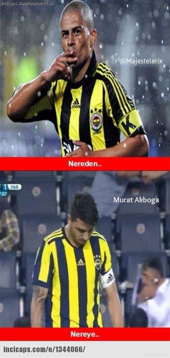 Fenerbahçe - Vardar maçı capsleri