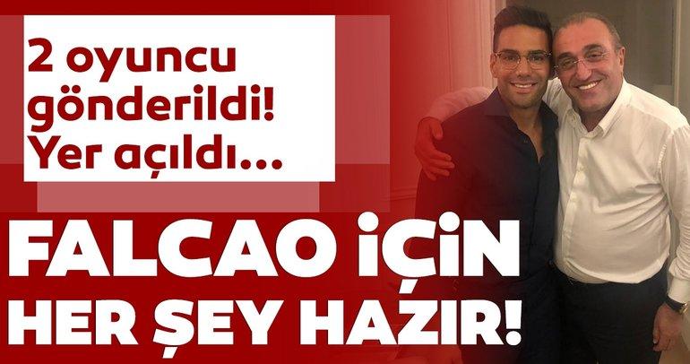 Galatasaray transfer haberleri: Falcao transferi için her şey hazır! Son dakika beklentisi...