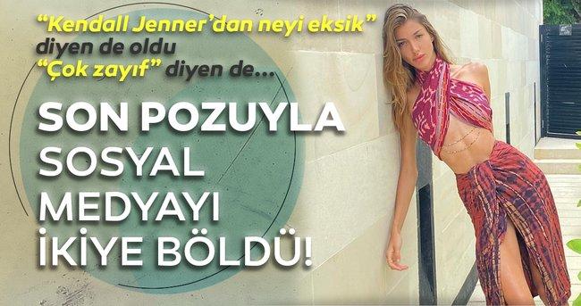 Türkiye güzeli Şevval Şahin'in bikinili pozları sosyal medyayı yaktı geçti! Şevval Şahin zayıflığı ile sosyal medyayı ikiye böldü