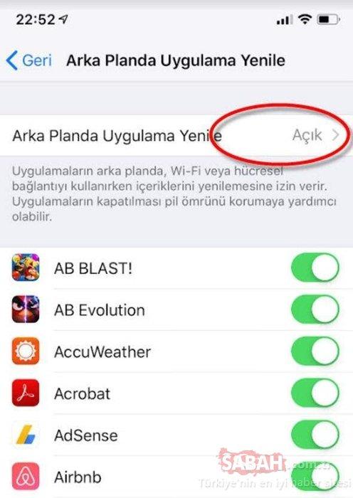 iPhone kullananlar dikkat! iPhone'da bu ayarı kapalı tutun!