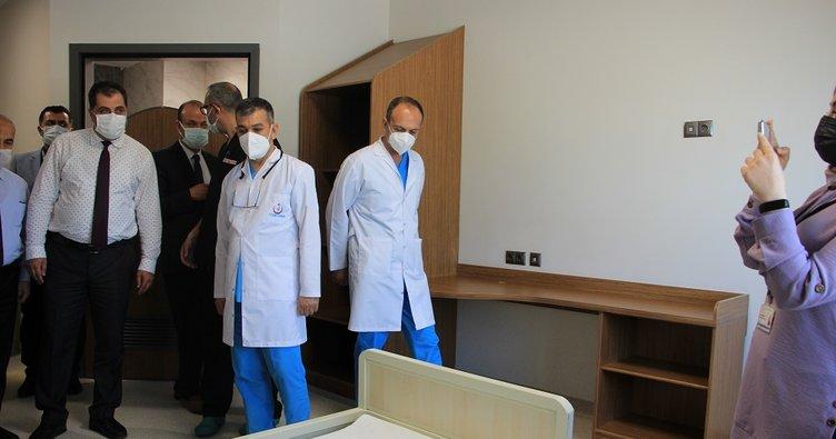 Elazığ Fethi Sekin Şehir Hastanesi'nde önemli açılış