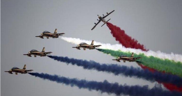 Dubai Airshow 2017'den çok özel görüntüler