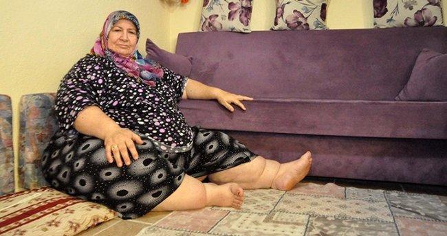 Eşi ölünce hayata küstü, 180 kilo oldu