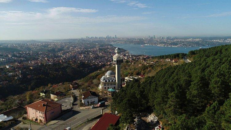 Beykoz Karlıtepe Merkez Camii'nin muhteşem manzarası!