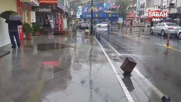 Son dakika! Meteoroloji'den yeni sağanak yağış uyarısı! Balkanlar üzerinden geliyor   Video