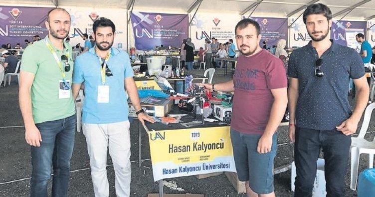 HKÜ'nün insansız hava aracı KALİHA finalde