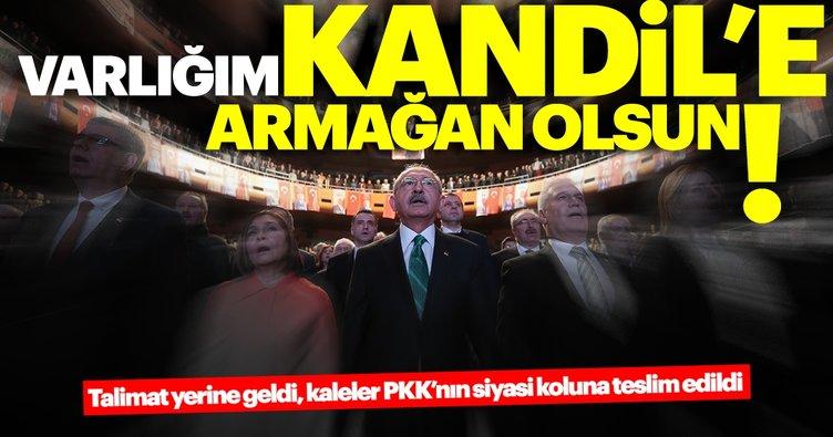 Kılıçdaroğlu CHP'sinde Kandil onaylı işler! Kaleler Kandil arzusuna teslim edildi