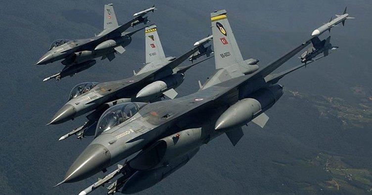 Irak'ın kuzeyinde hava harekatı: 3 terörist öldürüldü
