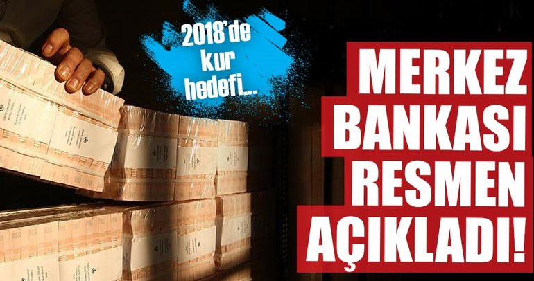 Son dakika: Merkez Bankası 2018 para ve kur politikasını açıkladı