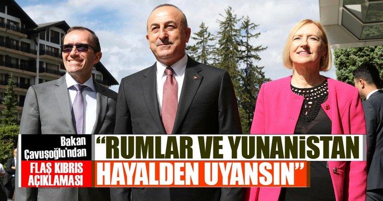 Dışişleri Bakanı Çavuşoğlu: Ömür boyu müzakere edecek değiliz