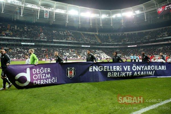Beşiktaş İstikbal Mobilya'yı farklı geçti! Gelen gollerle bu sezon Vodafone Park'ta bu sezon bir ilk yaşandı