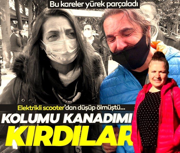 İstanbul'da İlknur Akkaya feci şekilde can verdi! Eşi ile babasının bu görüntüsü yürekleri deldi!