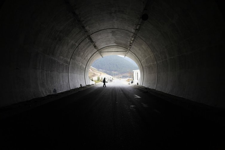Ilgaz'ı dize getiren tünel