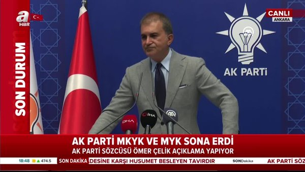 Ömer Çelik'ten İstanbul Sözleşmesi açıklaması | Video