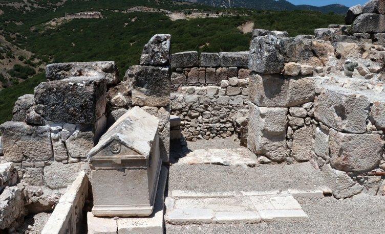 Kibyra'da ilk defa bazilikal planlı kilise bulundu