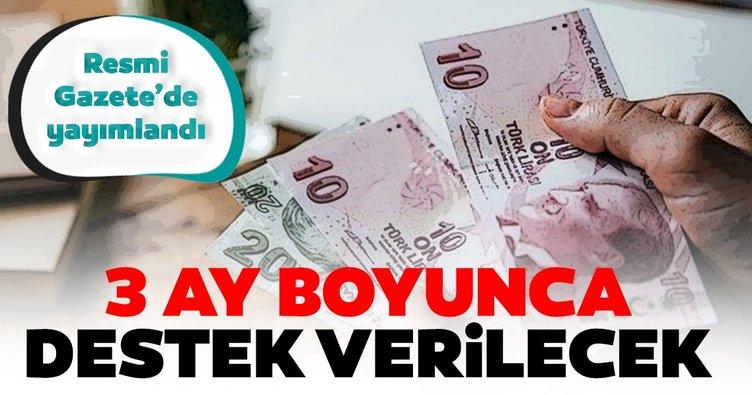 Son dakika | Başkan Erdoğan duyurmuştu: Esnafa hibe desteği kararı Resmi Gazete'de!
