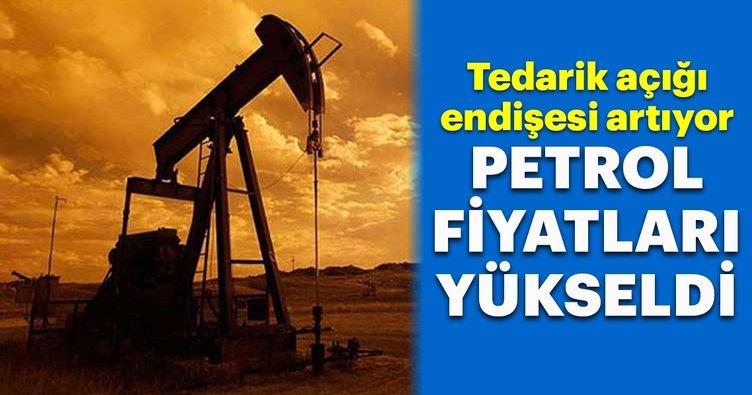 Petrol fiyatları tedarik açığı endişesiyle yükselişte