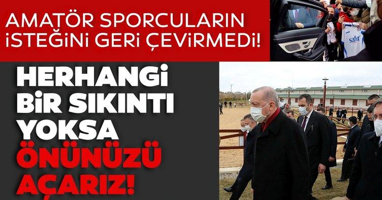 Başkan Erdoğan hepsini dinledi, talimatı verdi: İnceleyelim, sıkıntı yoksa önünüzü açarız