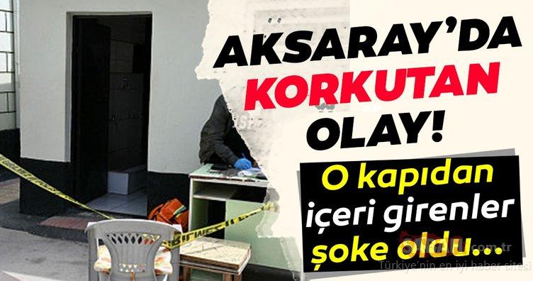 Son Dakika Haberler: Aksaray'da korkutan olay! Cami tuvaletine giren vatandaşlar dehşete kapıldı!
