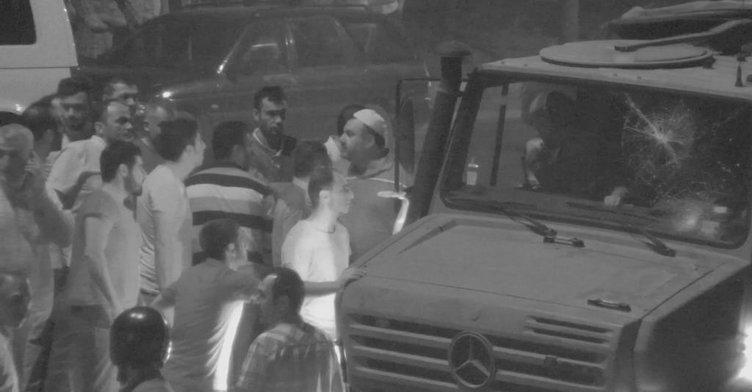 Darbecilerin vatandaşlara yaptığı saldırı güvenlik kameralarında